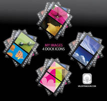 Dock Icons - My Pictures-Video by Valen23901