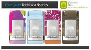 Nokia Nseries by Valen23901