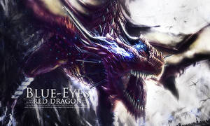 Blue-Eyes Red Dragon by Isaac251