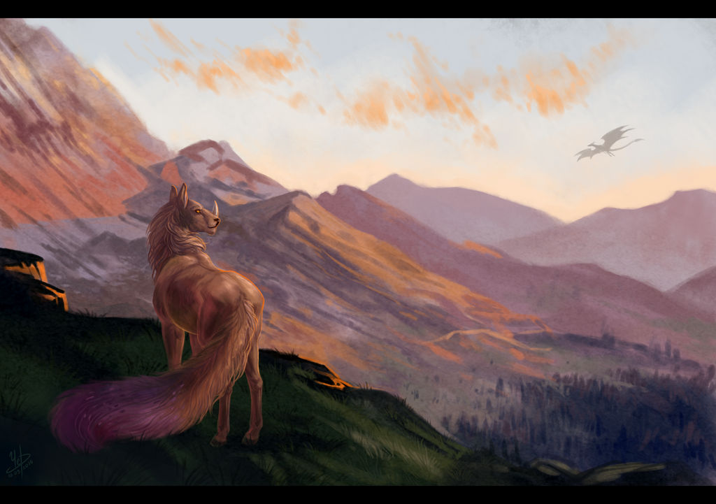 Mountains of Dareedor by Carota17