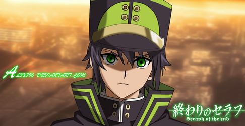Yuichiro Hyakuya  (Owari no seraph) by AL3X796