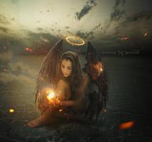 Black Angel by Detelina
