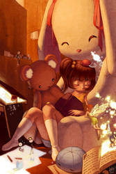 Original - Childhood Dreams by lin-k0