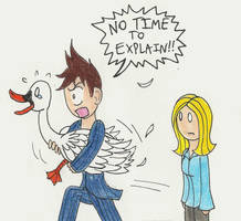 NO TIME TO EXPLAIN by CaptainAki13