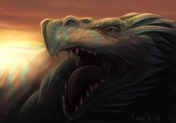 Heart of a Dragon by brokeman29