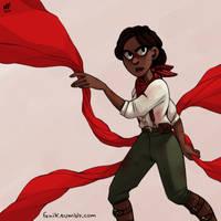 Bioshock infinite: Daisy Fitzroy by NatashaFenik
