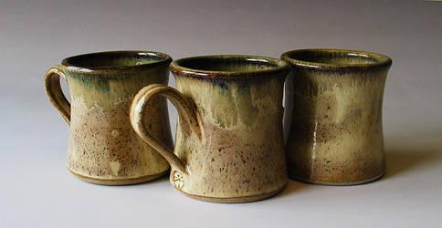Oatmeal and Honey Mugs by Justyse