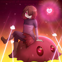 Glitchtale Betty | Collection of souls by TheKittyKat2000