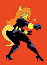 Patreon Request: Cosma as Black Widow by IgusZilla