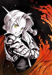 Fullmetal Alchemist: Edward Elric by Naschi