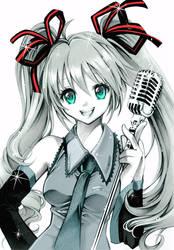 Vocaloid: Hatsune Miku by Naschi