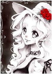 Nadja from my Manga by Naschi