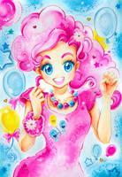 My little Pony: Pinkie Pie by Naschi