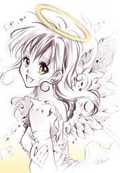 Angel by Naschi