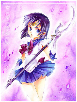 Sailor Moon: Sailor Saturn by Naschi