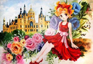 Juni Oil on canvas by Naschi
