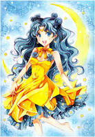 Sailor Moon: Luna by Naschi