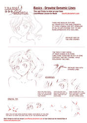 Learn Manga: Dynamic Lines by Naschi