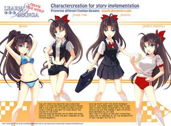 Learn Manga: Create your World - CC Fashion by Naschi