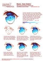 Learn Manga Basics: Eyes-Color by Naschi
