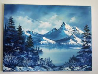 Winter scenery by Naschi