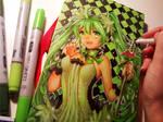 Miku Convention Book Design by Naschi