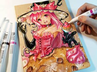 Sugar Book Cover by Naschi