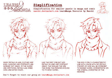 Learn Manga Simplification by Naschi