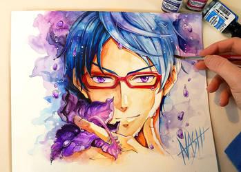 Purple Rain by Naschi