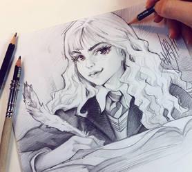 Hermione by Naschi