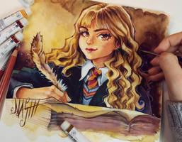 Hermione Granger by Naschi