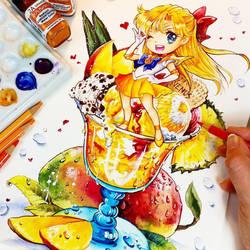 Mango Power Summer Splash! by Naschi