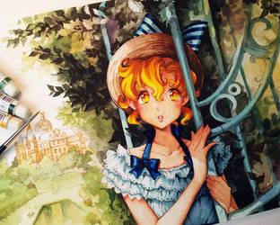 The secret Garden by Naschi