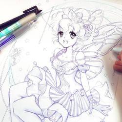 Midnight Butterfly by Naschi