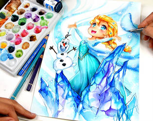Snowqueen by Naschi