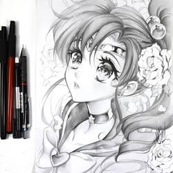 Sailor Jupiter by Naschi