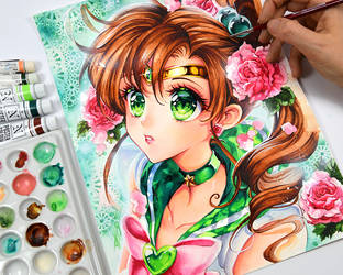 Sailor Jupiter by Naschi