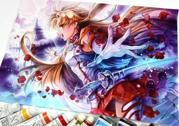Asuna SAO by Naschi