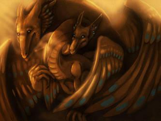 Birdy Dragons by magmi