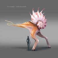 Painted Snalien_03 by Spighy