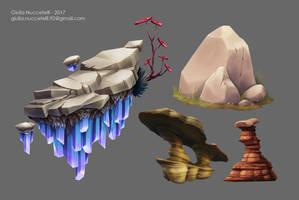 Rocks practice by Spighy