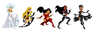Disney/Marvel Mashup by racookie3