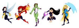 Disney/Marvel Mashup 2 by racookie3