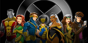 X-Men Line Up by racookie3