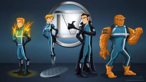 Fantastic 4 by racookie3