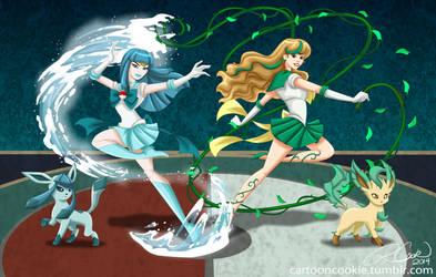 Sailor Eevee's 03 by racookie3
