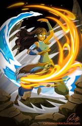 Avatar Korra by racookie3