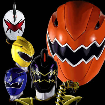 Power Rangers Dino Thunder by racookie3