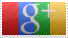 Google Plus Stamp with Color by bigfunkychiken