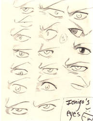 bleach eyes by loveinSN